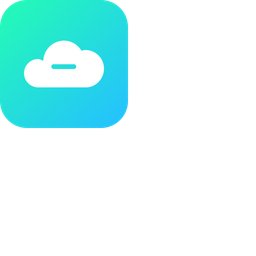Cloud, Storage, Online, Data, Big, Database, Subtract Icon png