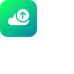 Cloud, Storage, Online, Data, Big, Database, Upload Icon