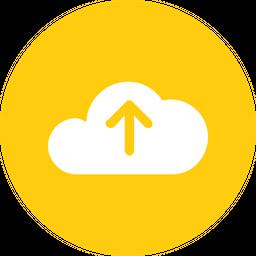 Cloud, Storage, Online, Data, Big, Database, Upload Icon png