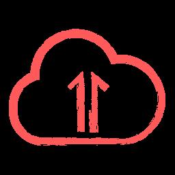 Cloud upload Icon