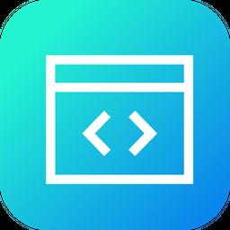 Code, Coding, Editor, Window, XML, Development, Css, Html Icon