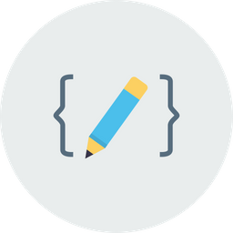 Code, Language, Coding, Development, Application, Project Icon