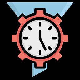 Cogwheel Colored Outline Icon
