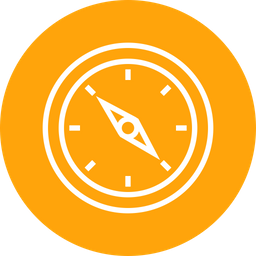 Compass, Search, Find, Logistic, Delivery, Direction, Navigation Icon
