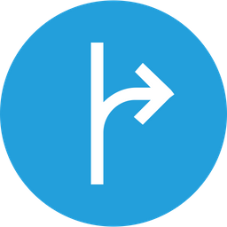 Connecter, Right, Stright, Joint, Way Icon