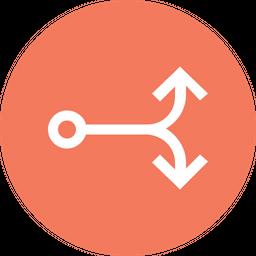 Connector Line Icon