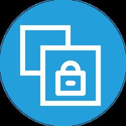 Copy, Lock, Window, File, Paper, Document, Safe, Private Icon