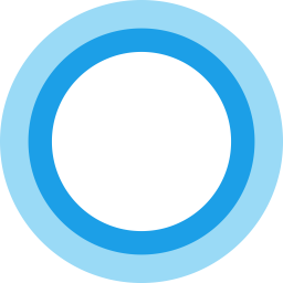Cortana Logo Icon Of Flat Style Available In Svg Png Eps Ai Icon Fonts