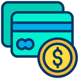 Credit Card Icon Of Colored Outline Style Available In Svg Png Eps Ai Icon Fonts