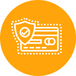 Credit, Debit, Card, Protect, Safety, Secure, Lock, Transaction Icon