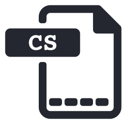Cs file Icon