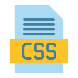 Css File Flat Icon
