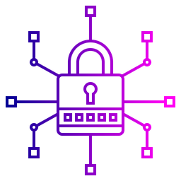 Cyber Line Icon