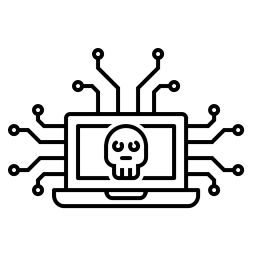 Cyber, Attack, Secure, Device, Connection, Data, Leak, Hack, Network Icon png