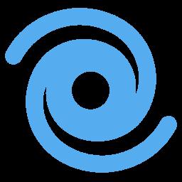 Cyclone Flat Icon