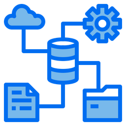 Database Setting Dualtone Icon