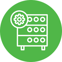Databse Line Icon