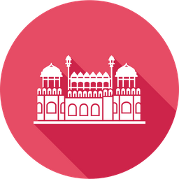 Delhi, Gate, Red, Fort, Lahori, Fifth, Mughal, Emperor, Mughal Icon