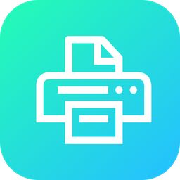 Device, Office, Print, Printer, Copier, Printing, Paper Icon