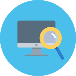 Device, Seo, Desktop, Monitor, Display, Search, Tool, Optimization Icon