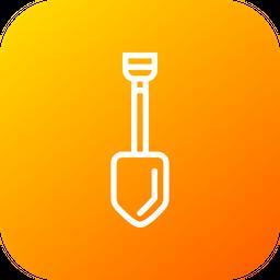 Digging Line Icon