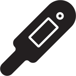 Digital Thermometer Icon