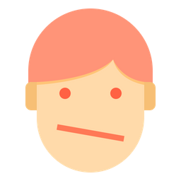 Discontent Emotion Face Icon