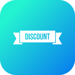 Discount, Ribbon, Sell, Sale, Offer, Gift, Voucher Icon