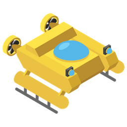 Diving Vehicle Icon