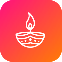Diya, Lamp, Diwali, Decoration, Festival, Indian, Celebration Icon