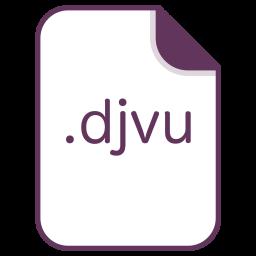 Djvu, File, Document, Extension, Filetype Icon