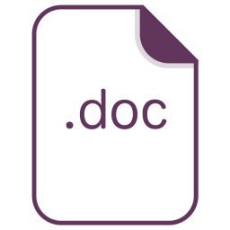 Doc, File, Document, Extension, Filetype Icon