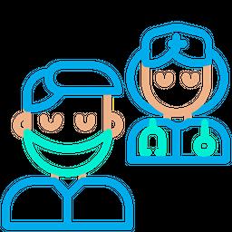 Doctors Team Icon