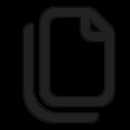 Document Copy Icon
