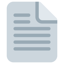Document, Page, Fold, Facing Icon