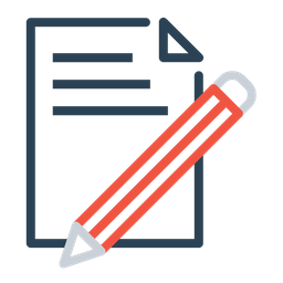 Document, Paper, Write, Pencil, Pen, Drawing Icon png