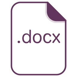 Docx, File, Document, Extension, Filetype Icon