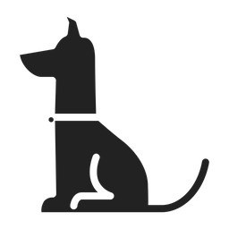 Dog Icon Of Glyph Style Available In Svg Png Eps Ai Icon Fonts