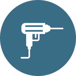 Drill Glyph Icon