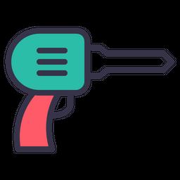 Drill, Job, Drilling, Tool, Screwdriver, Equipment, Work Icon
