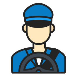Driver Icon Of Colored Outline Style Available In Svg Png Eps Ai Icon Fonts