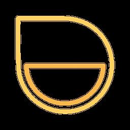 Drop Line Icon