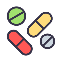 drug icon of colored outline style available in svg png eps ai icon fonts drug icon of colored outline style