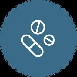 Drug, Capsule, Pill, Medication, Medicines, Prescribe Icon
