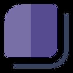 Duplicate Flat Icon