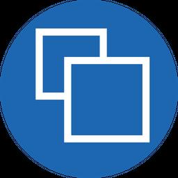 Duplicate, Square, Shape, Copy, Clone, Design Icon