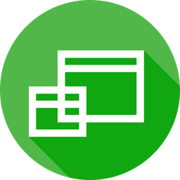 Duplicate, Window, Copy, Clone, Rectangle Icon