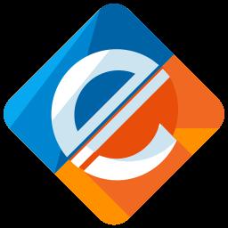 E-payment Flat  Logo Icon