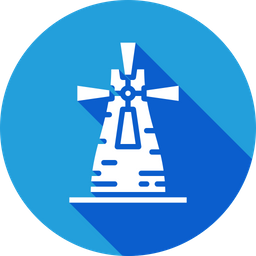 Ecology, Energy, Windmill, Windturbine, Generator Icon