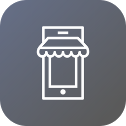 Ecommerce, Shop, Mobile, Online, Store, Shopping, Sell Icon png